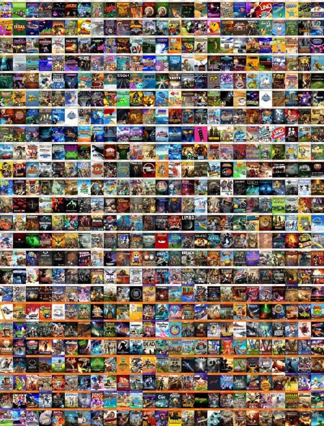 600 XBLA Games