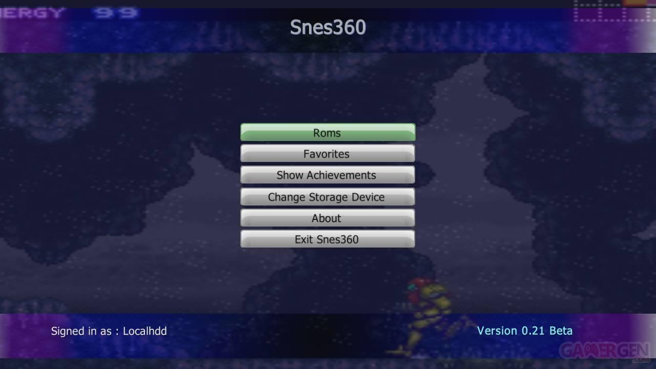 SNES360MainMenu