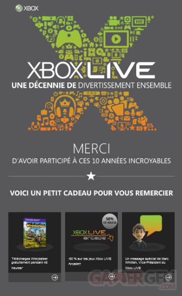 10 ans xbox live