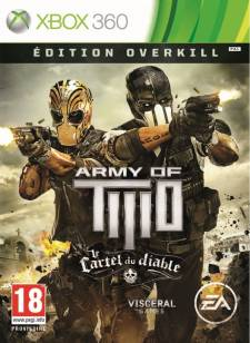army of two le cartel du diable edition overkill jaquette