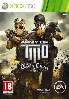 army of two le cartel du diable jaquette