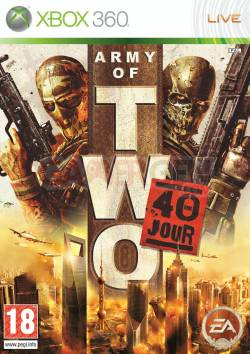 army of two - cover - jaquette