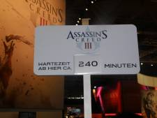 assassin's creed 3 gamescom attente