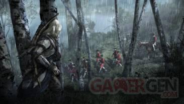 assassin's creed III theme menu