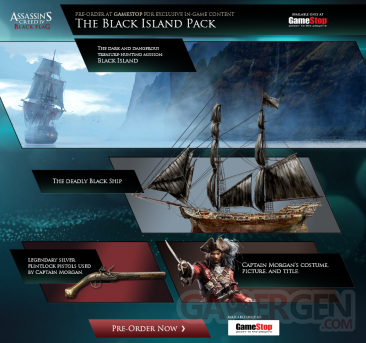 assassin's creed iv black flag gamestop reservation