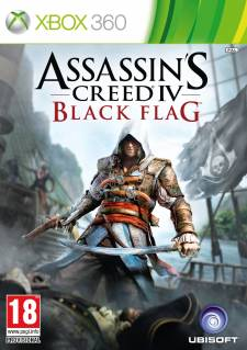 Assassin's Creed IV Black Flag jaquette 360