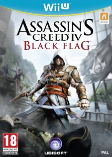 Assassin's Creed IV Black Flag jaquette Wii u