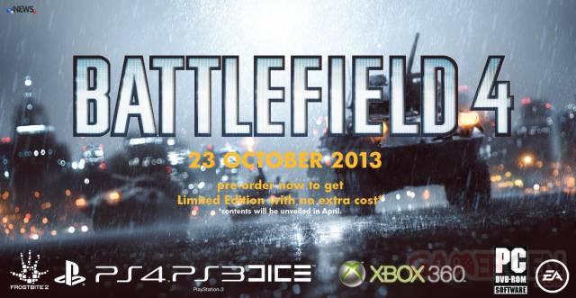 battlefield 4 image révelation date sortie edition limitée