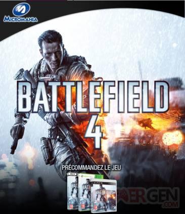 battlefield 4 précommande micromania