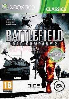 battlefield bad compagny 2 classic xbox 360 jaquette