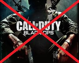 black ops affiche week end barre