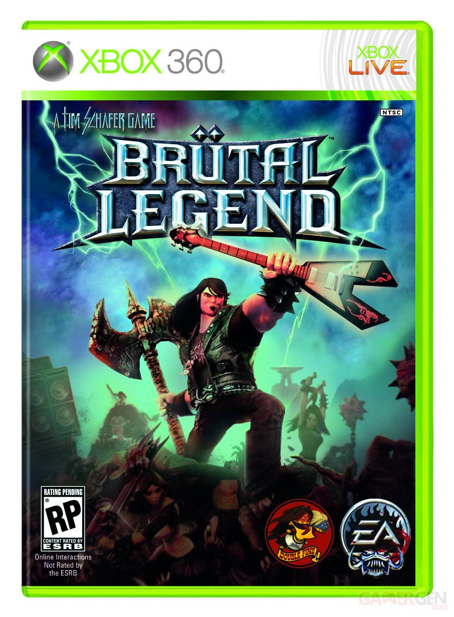 brutal legend 360 Brutal Legend Box Art
