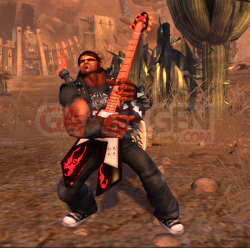 brutal legend Eddie rocking out