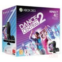 bundle xbox 360+kinect+dancecentral2
