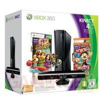 bundle xbox 360+kinect+kinectadventure+carnival