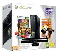 bundle xbox 360+kinect+kinectadventure+kungfupanda