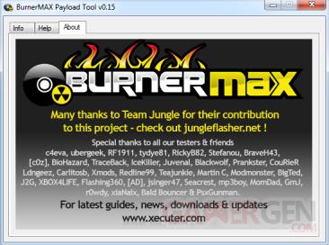BurnerMAX capture image a propos