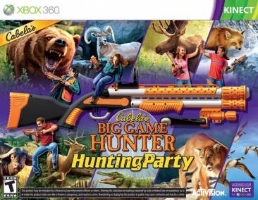 Cabelas Big Game Hunter Hunting Party boite