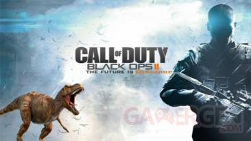 call of duty black ops II dinosaures