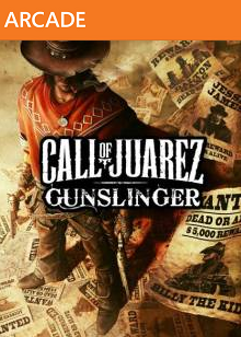 Call of Juarez Gunslinger-jaquette