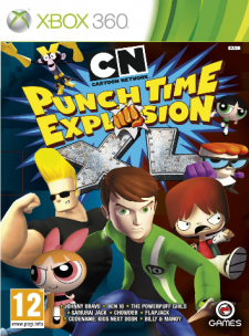cartoon network punch time explosion jaquette