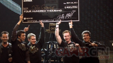 Championnat Call of Duty Championship cheque 400 000 $ capture image