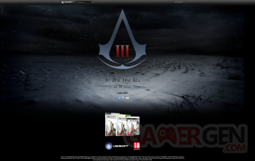 compte à rebours Assassin's creed 3