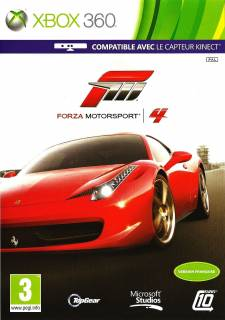 concours casquette forza motorsport 4 jaquette Forza Motorsport 4 front cover