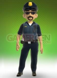 costume policier avatar Grosseben