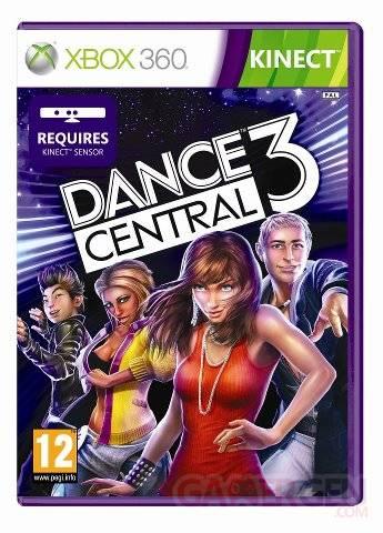 dance central 3 jaquette