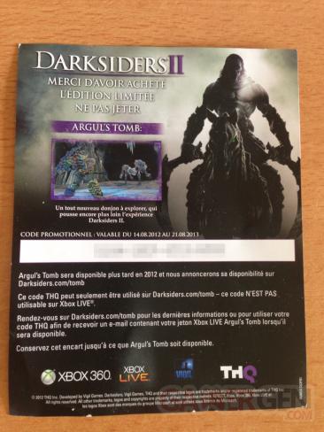 darksiders II code argul's tomb