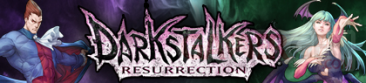 Darkstalkers Resurrection banniere