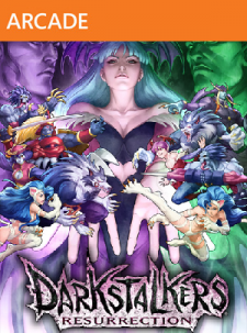 Darkstalkers Resurrection - jaquette