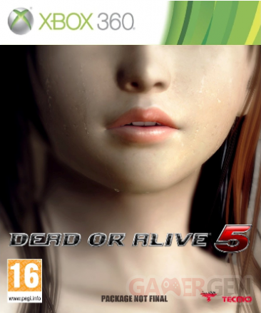dead or alive 5 jaquette