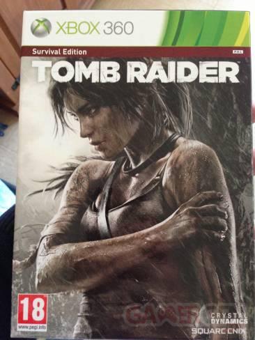 déballage Tomb raider Survival Edition (14)