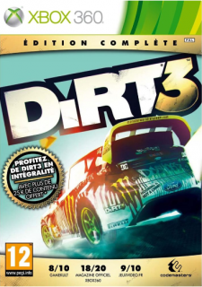 dirt 3 edition complete jaquette