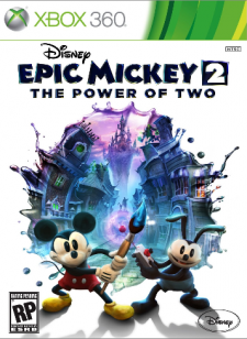 Disney Epic Mickey 2 The Power of Two  cover