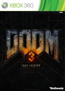 Doom 3 BFG - jaquette Xbox 360
