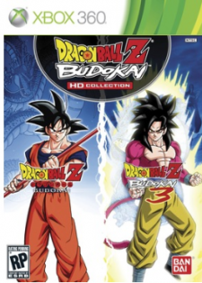 Dragon Ball Z Budokai HD Collection cover