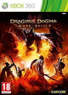 dragon dogma dark arisen xbox 360 jaquette
