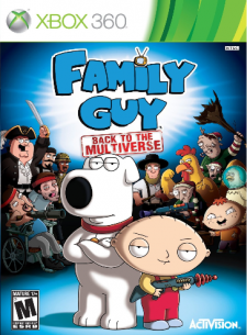 Family Guy Back to the Multiverse  cover