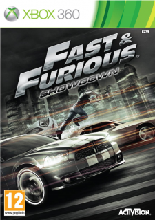 fast and furious showdown jaquette