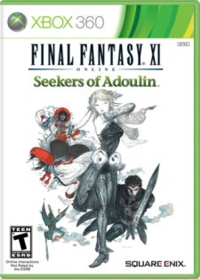Final Fantasy XI Seekers of Adoulin jaquette us