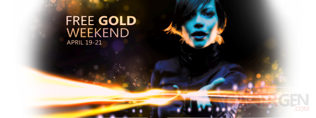 free xbox live gold weekend 19-21 april