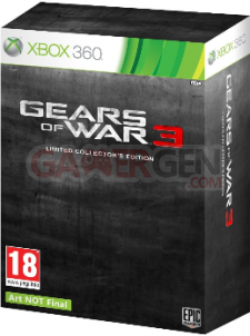 gears of war 3 edition limitéz front