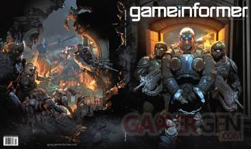 gears of war judgement couverture GameInformer Baird