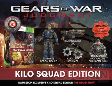 gears of war judgment kilo squad edition