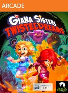 Giana Sisters Twisted Dreams jaquette