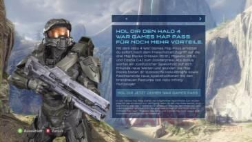 Halo 4 dashboard allemand leak dates dlc