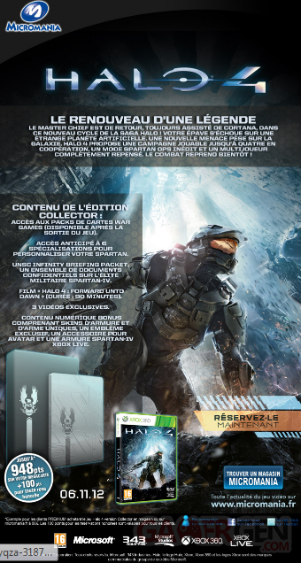 halo 4 reservations